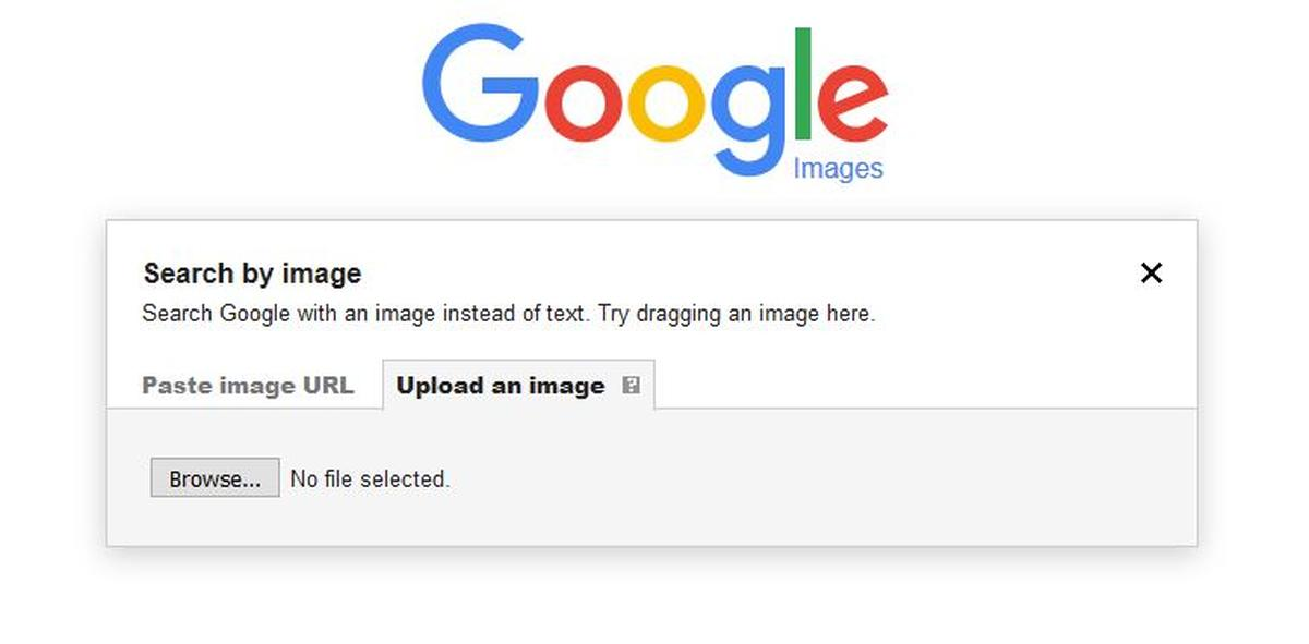 Google reverse image search for phones and tablet
